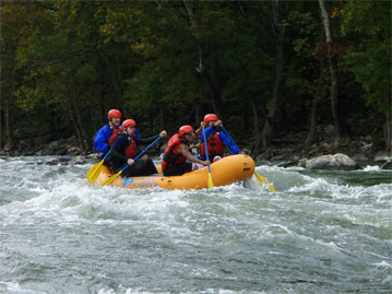 harpers ferry self guided white water rafting