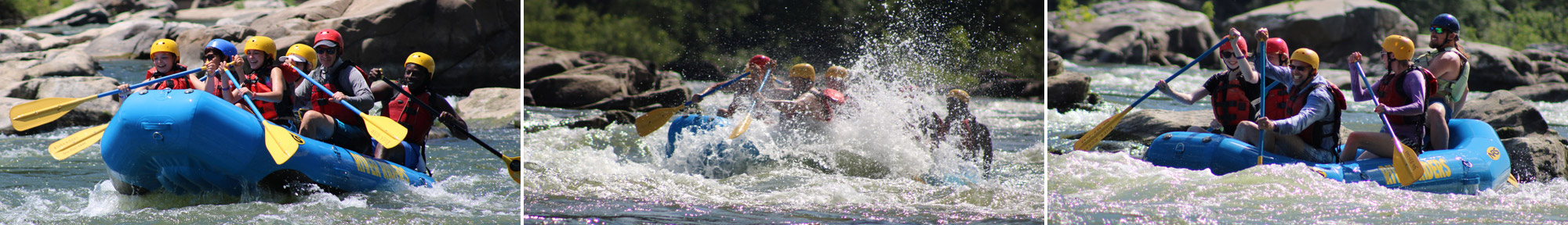 whitewater rafting in Harpers Ferry, WV
